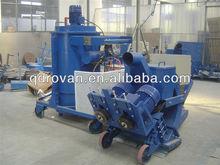 High efficiency automatic asphalt shot blasting machine/asphalt sand blasting machine