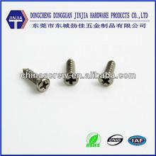 M1.7x6 phillips de cabeza de tornillo miniatura micro tornillo para electrónica