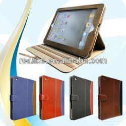 Retro leather case for ipad mini,new case for ipad mini magnetic closure book style