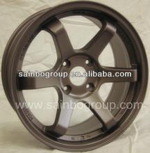 Bronze Volk Rays TE37 Alloy Wheels For Cars