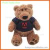 Promotional Cute Plush Stuffed Bear with T-shirt