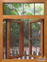 french aluminum casement window/glass window