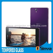 New Model 2.5D Curved Edge Ultra Thin 0.33mm 9H Tempered Glass Anti-shock Screen Guard Protector Film For Sony Xperia Z Ultra