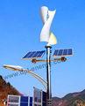 Pequeña turbina de viento para el hogar, híbrido de viento solar de generación de energía, el túnel de viento