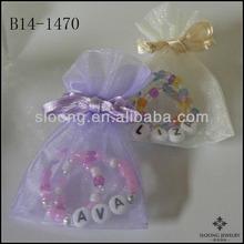 Words Beautiful Color Friendship Children's Jewelry Bracelets BEST FRIEND BFF Set Great Gift or Party Favor Bracelet Jewelry