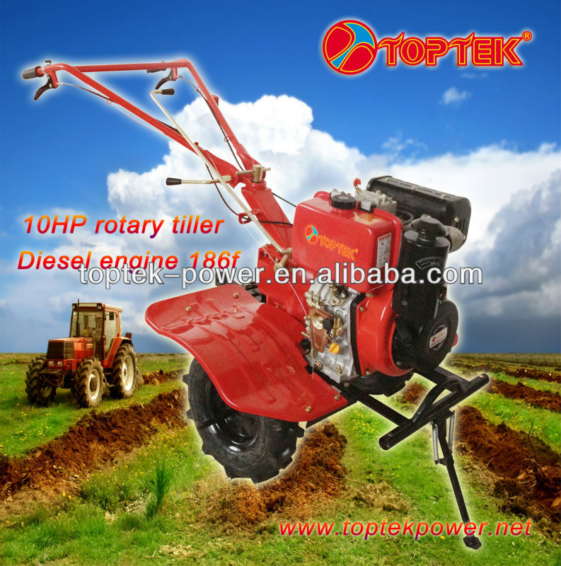 10hp diesel engine cultivator for farm