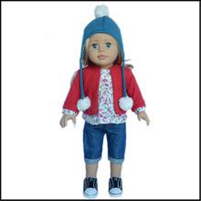 il miglior regalo per una ragazza 18 pollici bella bambola ragazza americana