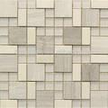 mosaico bianco piastrelle del bagno in pietra per la decorazione domestica