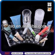 TSD-A787 custom wholesale acrylic cosmetic pencil display/acrylic counter top holder/acrylic display beauty