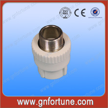 Competitive Plastic PPR Fittings Male Coupler