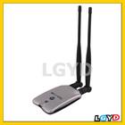 Popular 300G High-Power & High-Sensitivity 802.11b/g USB Wireless Adapter, Support network decoder