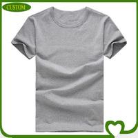 wholesale the 100% cotton short sleeve plain t-shirt wide neck men