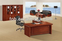 secretary office table small wooden table (FOHA-3718#)
