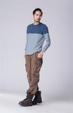 Pour 2014 nouveau Design homme pantalons, Designer cargo kaki pantalons de travail pantalons