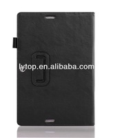 Black Pen Slot Leather Case Cover For IPad Mini 2