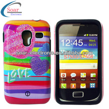 Design Combo Back Cover Cases for Samsung Galaxy Ace Plus S7500