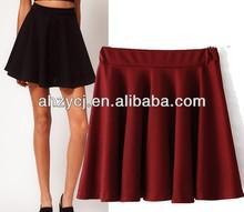 Hot new women short dress 2014 ladies summer fashion 2014 ladies pleated girl's skirt
