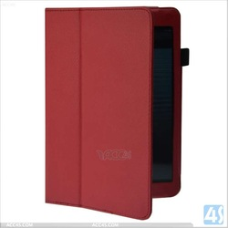 For ipad mini knit case,leather case with stylus holder for ipad mini