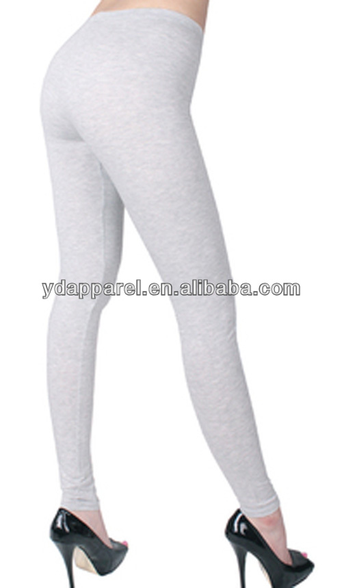 Color Cotton Leggings Basic Color Cotton Leggings