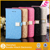 for iPhone 5C diamond bling leather case