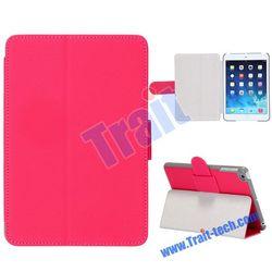 Smart Folio Stand Texture Leather Case for iPad Mini 2 Retina