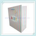 Portador de papel bolsas de venta al por mayor, papel de bolsa ecológica, de papel bolsa de regalo para bebe