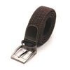 cotton canvas leather elastic webbing belts fashionable & belt buckle