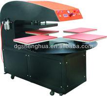 Digital & Automatic Four Courses Heat Press Machine for T-shirt