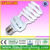 D68 low price 30w half spiral -PBT cfl light bulbs with TUV