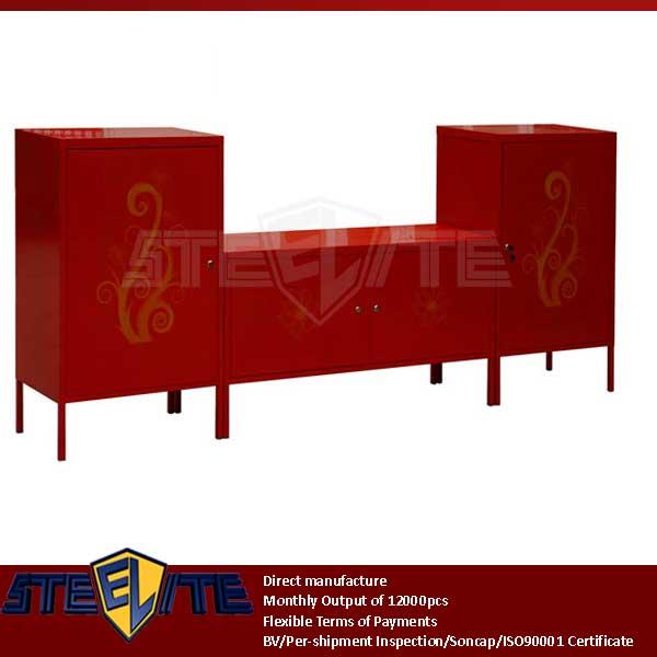 Ikea ps decolor gabinete de ferro vermelho cor coreano home m veis de metal - Meuble en metal ikea ...