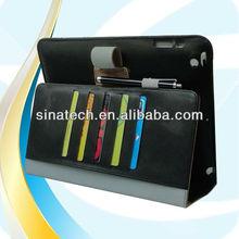 stylish function case for ipad air/ipad 4/ipad mini 2