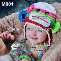 Hand made adult crochet kufi hats knitting beanies for sale