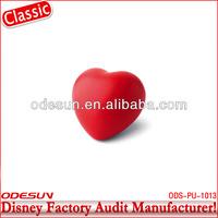 Disney factory audit manufacturer's heart shaped stress ball 142032