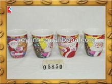 High end X'mas ceramic gift mug