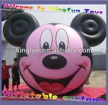 Sky inflatable helium mickey mouse/Air cartoon
