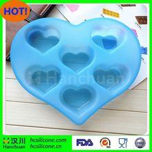 heart shape silicone ice cream mold,heart shape silicone ice maker,heart led ice cube