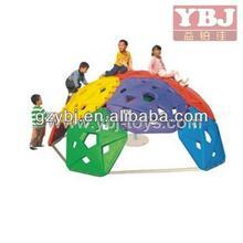 half sphere children climbing playset