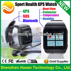 Hot selling Sport Health Smart Watch phone, smart watch mobile phone with GPS Tracker Watch SOS Heart Rate Pedometer Measurement