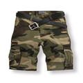 china fabricante de costume feita de algodão homens camo militar shorts