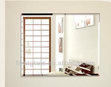 modern bath/bedroom mirror polished edge