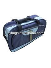 Nice design large capacity polyester travelling bag on wheels