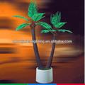 De alta calidad artificial de árboles bonsái, bonsai artificial de coco, led de luz del paisaje