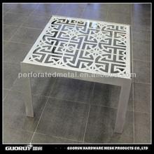laser cut metal home furniture