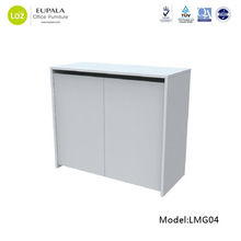 storage office furniture new design with one baffle inside