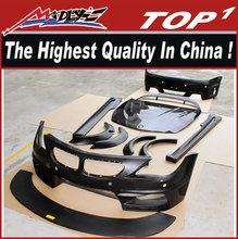 High quality fiber glass e64 bm-w body kit for 2004-2009 BMW 6 series E64 luma style wide body