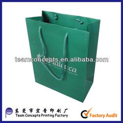 Cheap logo print promotion advertising paper bag