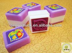 Custom Size Children Self-inking Stamp/Children Non-toxic Ink Stamp