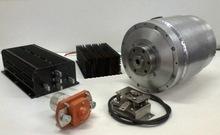 BLDC Motor Brushless 45 / 70 kW 360V + controller