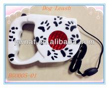 Dog product retractable dog leash/pet leash with waste bag dispenser