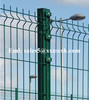 PVC coated wire mesh fence ( Factory, ISO9001:2008)